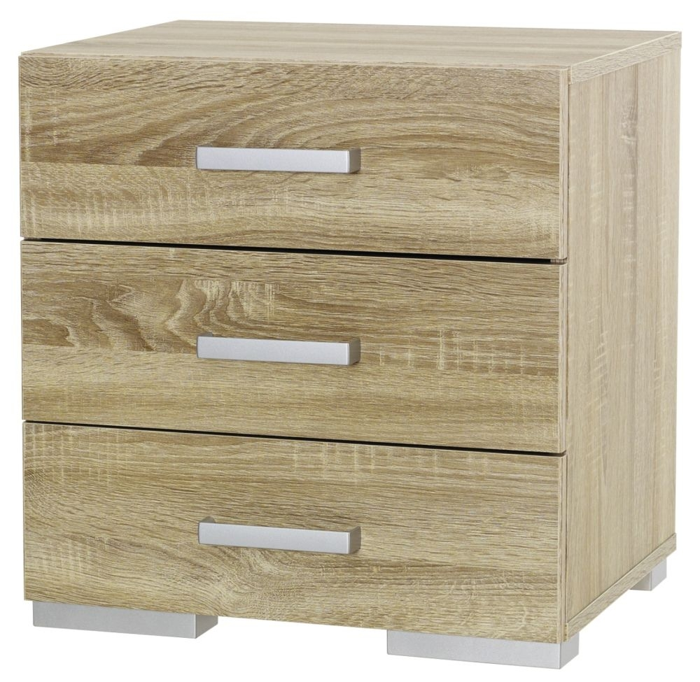 Rauch Harvard 3 Drawer Chest in Oak