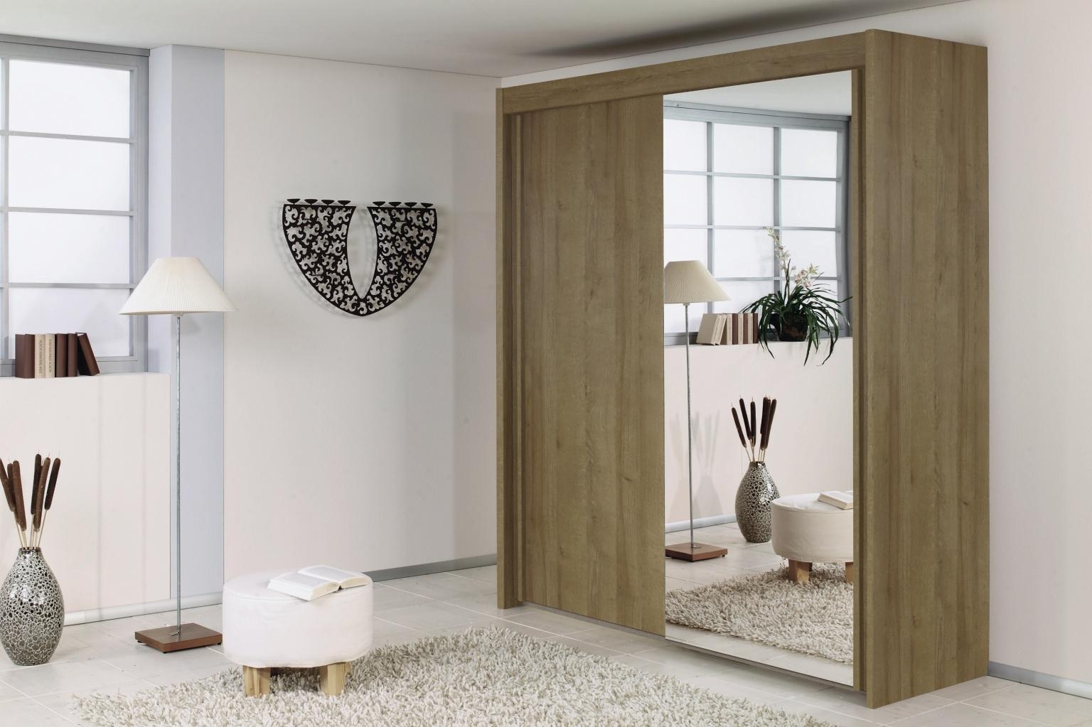 Rauch Imperial Rivera Oak 2 Door Sliding Wardrobe W 151cm