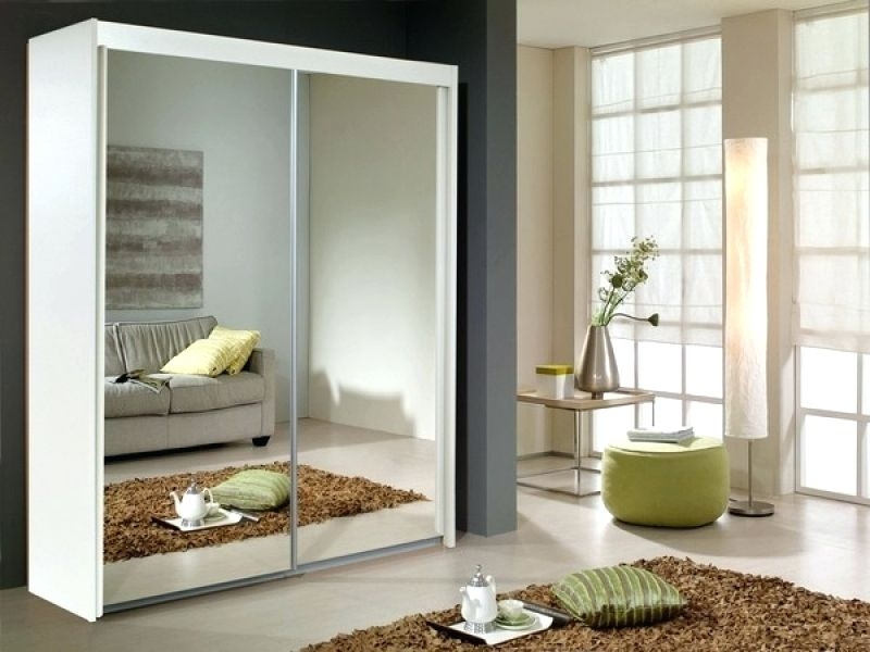 Rauch Imperial 2 Mirror Door Sliding Wardrobe in Alpine White - W 151cm