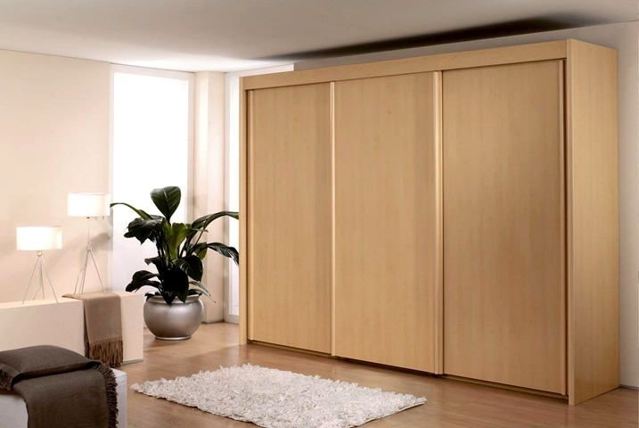 Rauch Imperial Beech 4 Door Sliding Wardrobe W 320cm