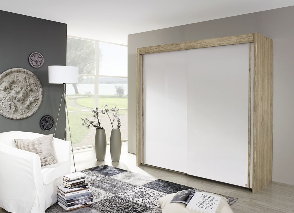 Rauch Imperial Sliding Wardrobe - Front with High Polish