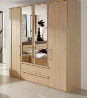 Rauch Iris Wardrobes with Cornice
