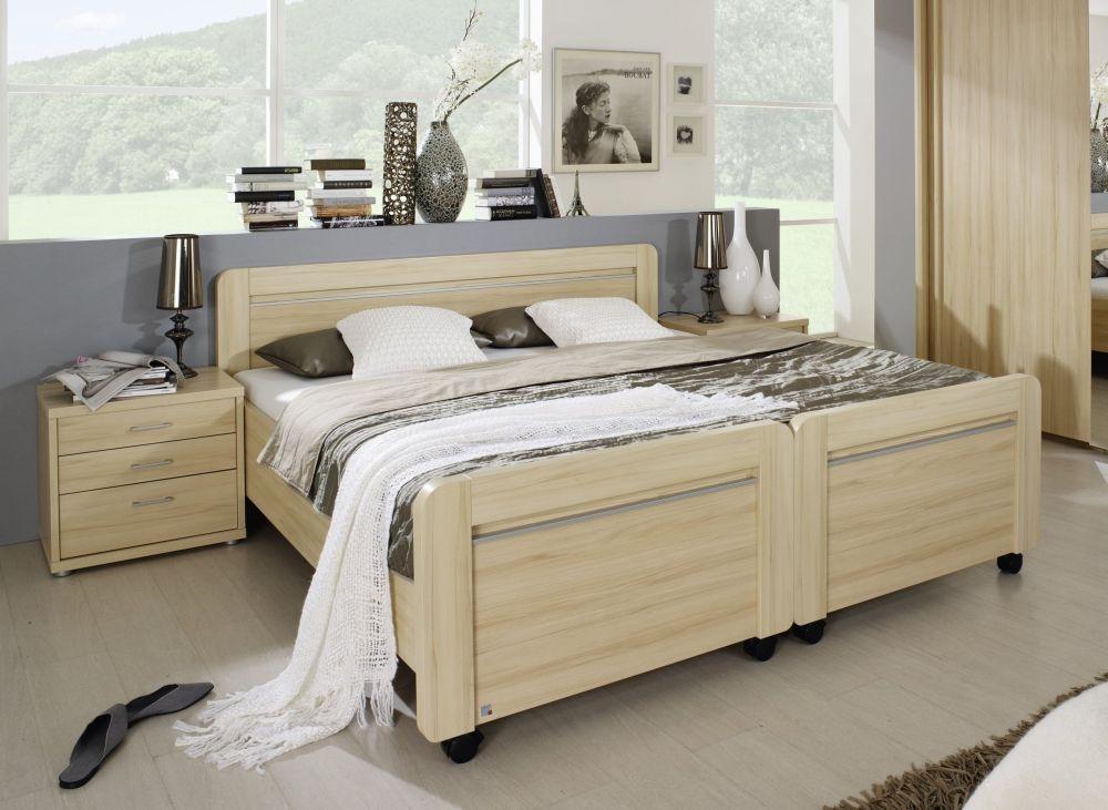 Rauch Iris Comfort Bed on Castors