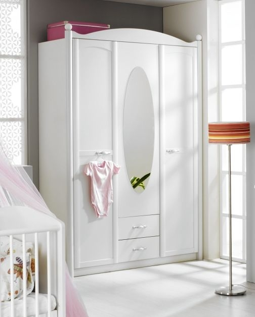 Rauch Lilly Alpine White 3 Door Wardrobe - W 146cm