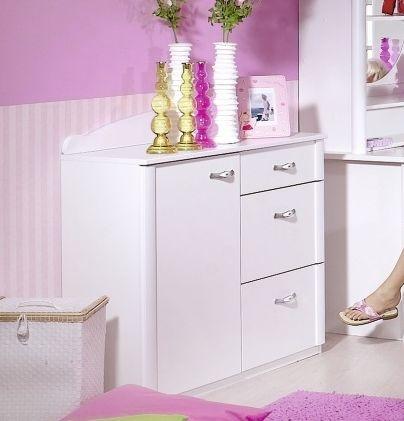 Rauch Lilly Alpine White Chest of Drawer - 2 Door