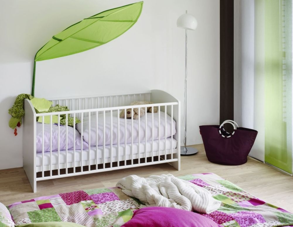 Rauch Lilly Alpine White Cot Bed