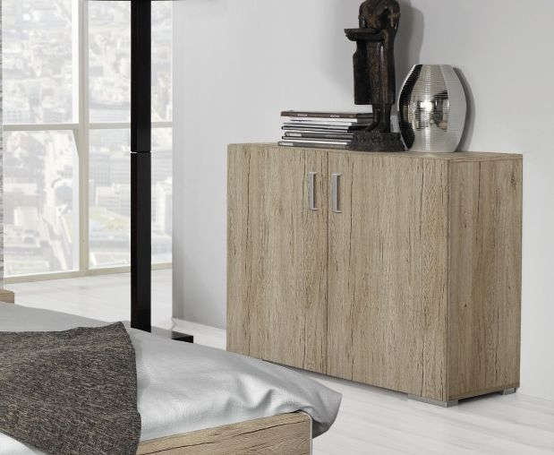 Rauch Mavi Base 3 Drawer Chest in Sanremo Oak