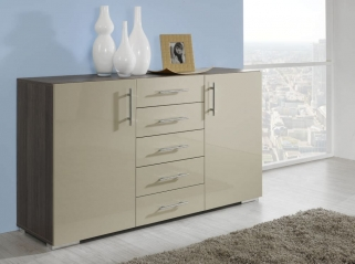 Rauch Mavi Plus Matching Pieces with Chrome Coloured Feet and Rounded Handle