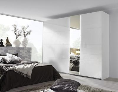 Rauch Miramar 2 Door Sliding Wardrobe in White - W 271cm