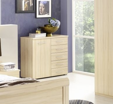 Rauch Molmo Natural Beech Chest of Drawer - 4+2 Drawer