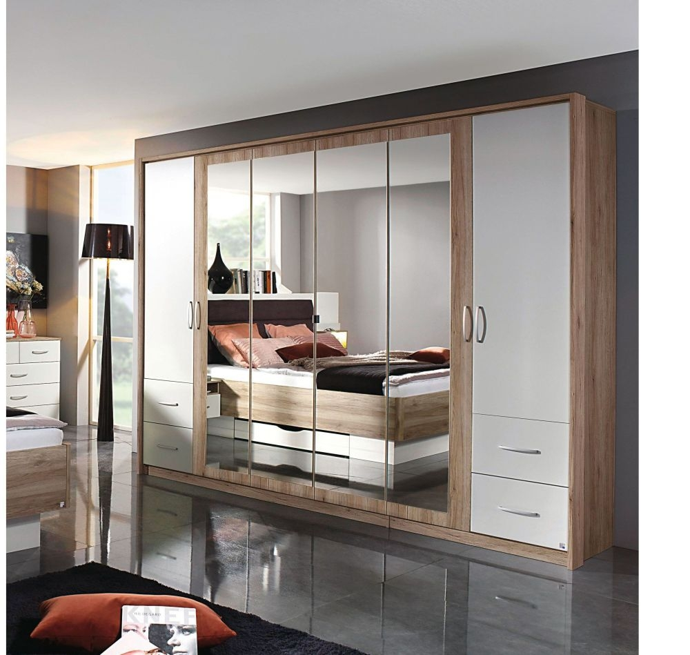 Rauch Neustadt Extra Wardrobe with Aluminium Color Handle