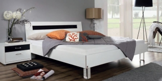 Rauch Plus 2 Futon Bed with Metal Feet