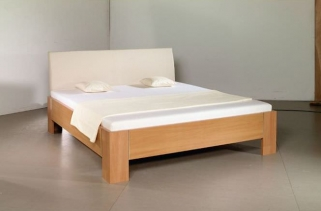 Rauch Plus 2 Futon Bed with Wooden Feet