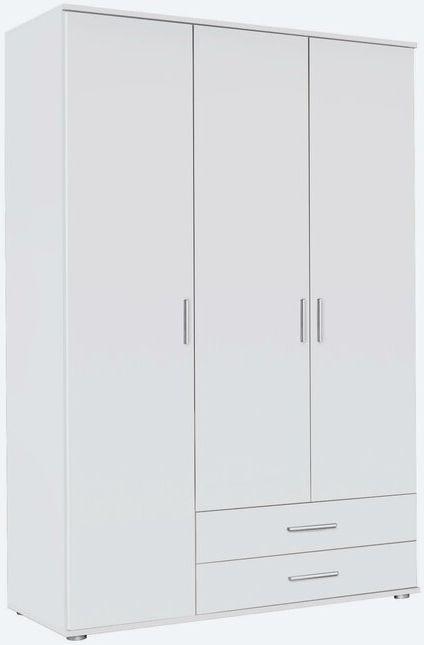 Rauch Rasant 3 Door 2 Drawer Combi Wardrobe in Alpine White - W 127cm