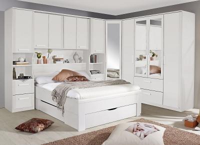 Rauch Rivera Bedroom Set with 140cm Storage Bed in Alpine White