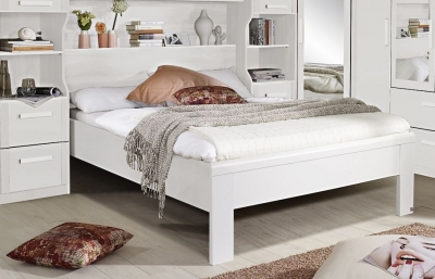 Rauch Rivera White Bed