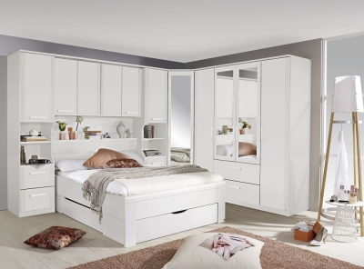 Buy Rauch Rivera White Overbed Unit Online Cfs Uk