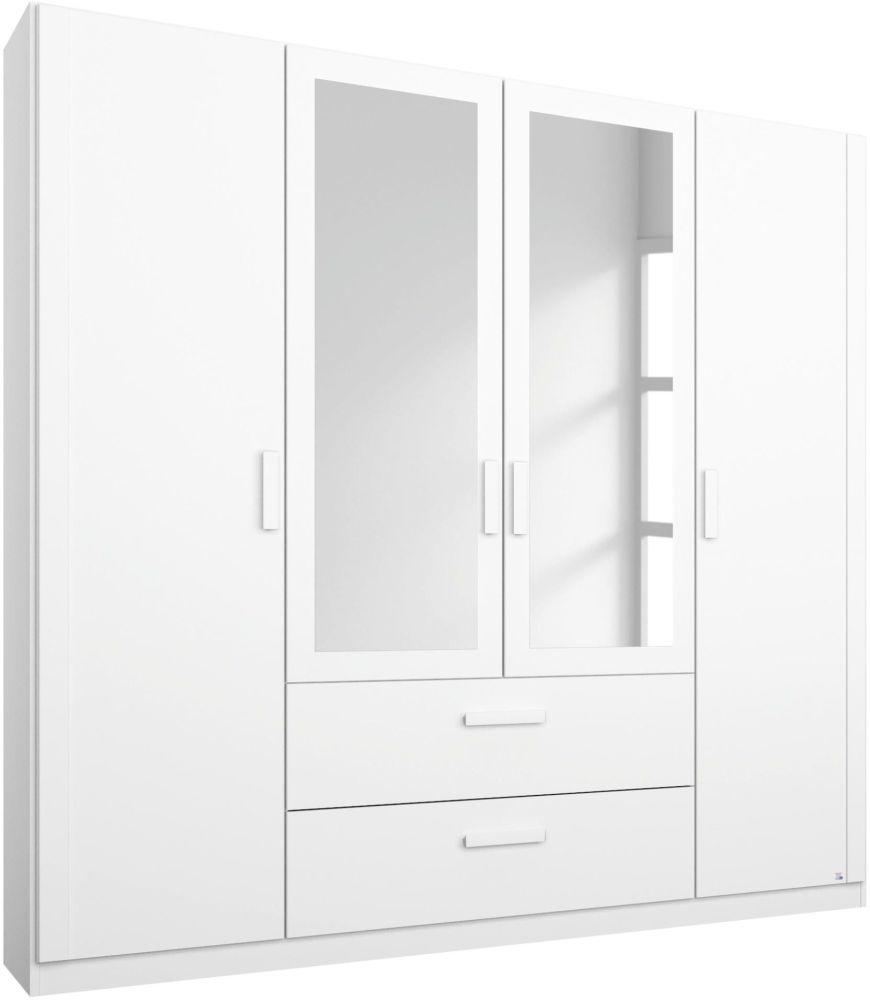 Rauch Rivera White Wardrobe