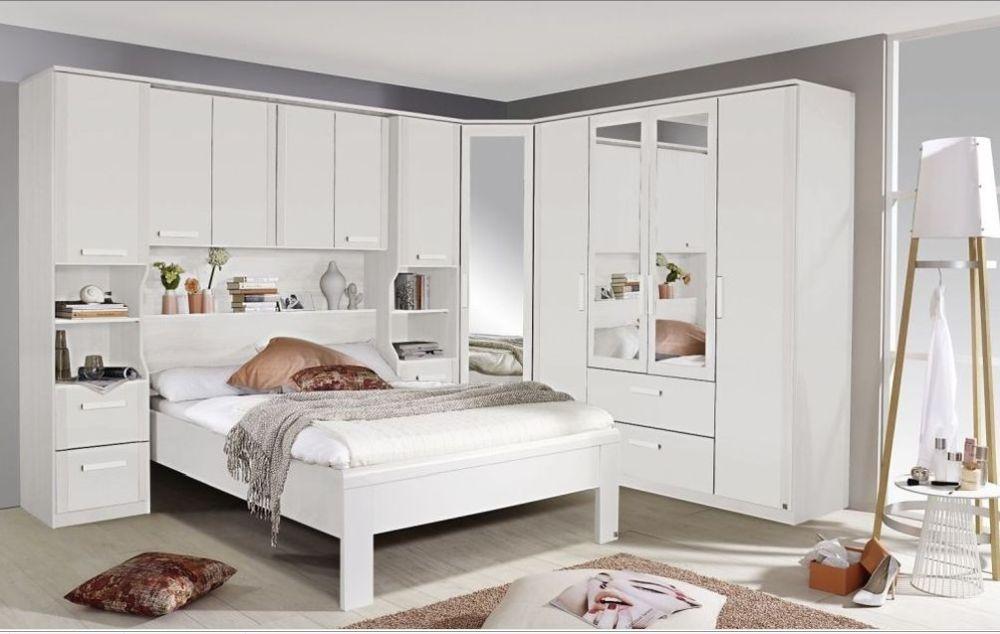 Rauch Rivera White Alpine White 2x3 Drawer Bedside Cabinet