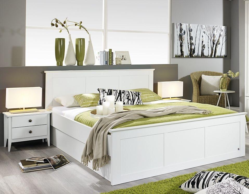 Rauch Rosenheim 6ft Queen Size Closed Foot Panel Bed in Alpine White - 180cm x 200cm