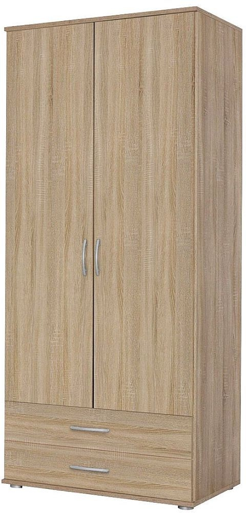 Rauch Simply4you 2 Door Wardrobe in Oak - W 85cm