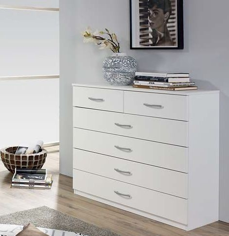 Rauch Simply4you 2+4 Drawer Chest in Alpine White