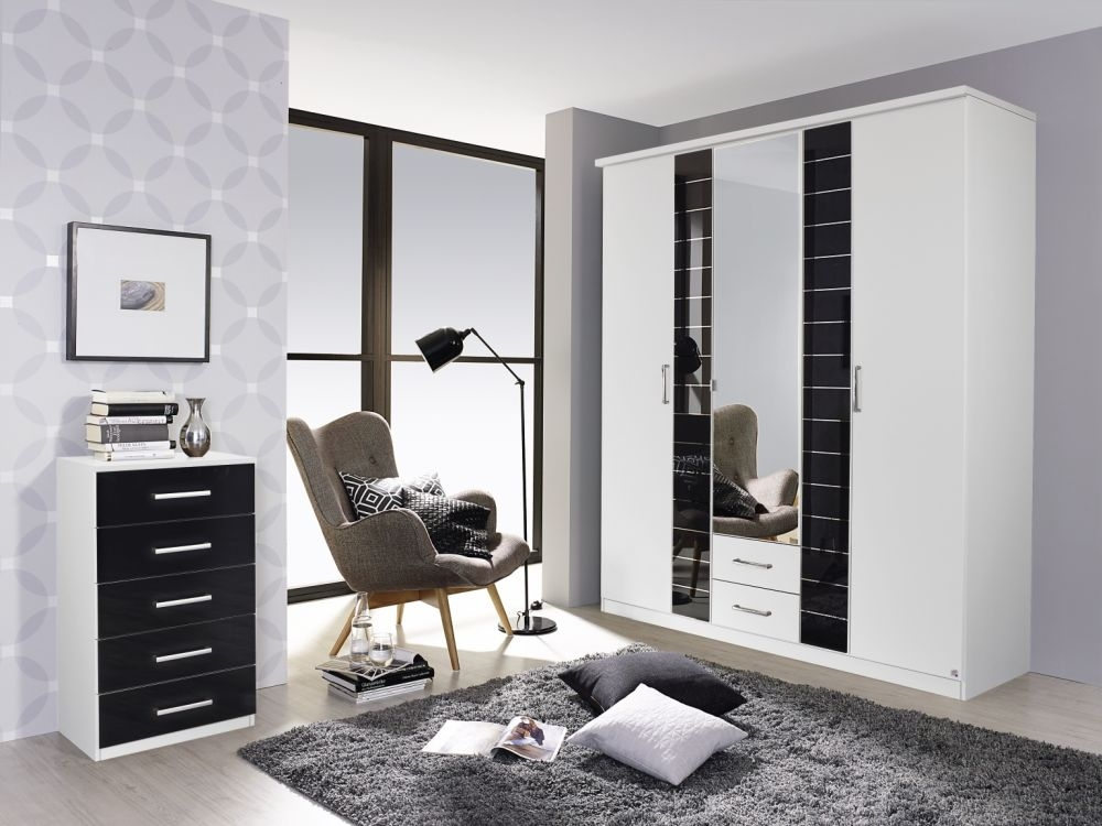 Rauch Terano Wardrobe with Cornice