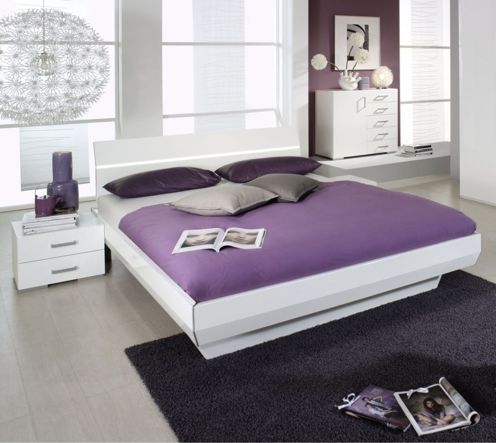 Rauch Tira High Polish Bed