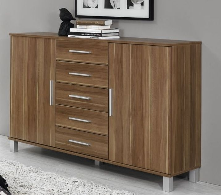 Rauch Vereno Stirling Oak Low Feet 5 Chest of Drawer