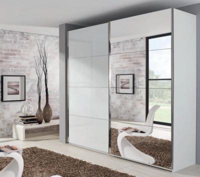 Rauch Xtend Sliding Wardrobe with Line-1 Mirror