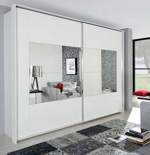 Rauch Xtend Frame Sliding Wardrobe Combination
