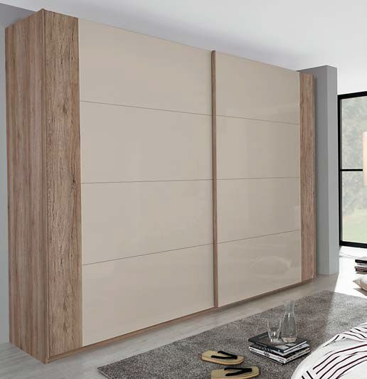 Rauch Xtend Stripe Sliding Wardrobe Combination