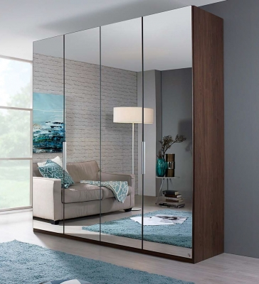 Rauch Zenaya Wardrobe with Wood Decor Front