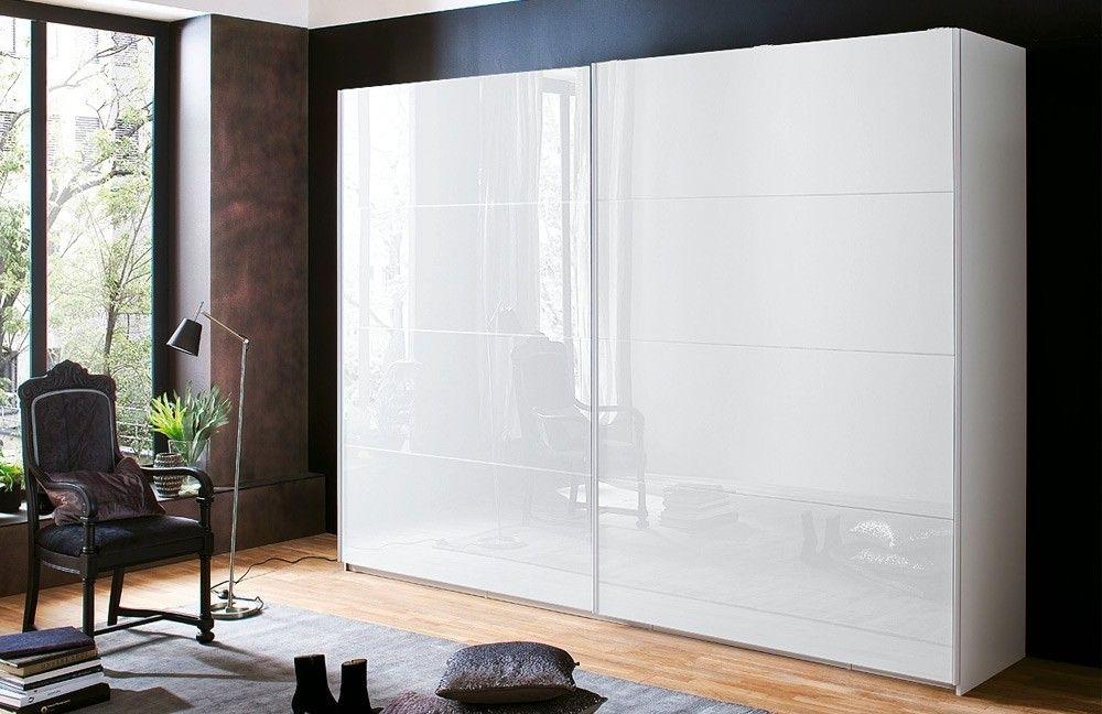 Rauch Zenaya 2 Door Sliding Wardrobe in White - W 226cm