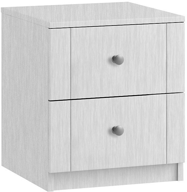 Aylesbury 2 Drawer Bedside Cabinet - Ready Assembled
