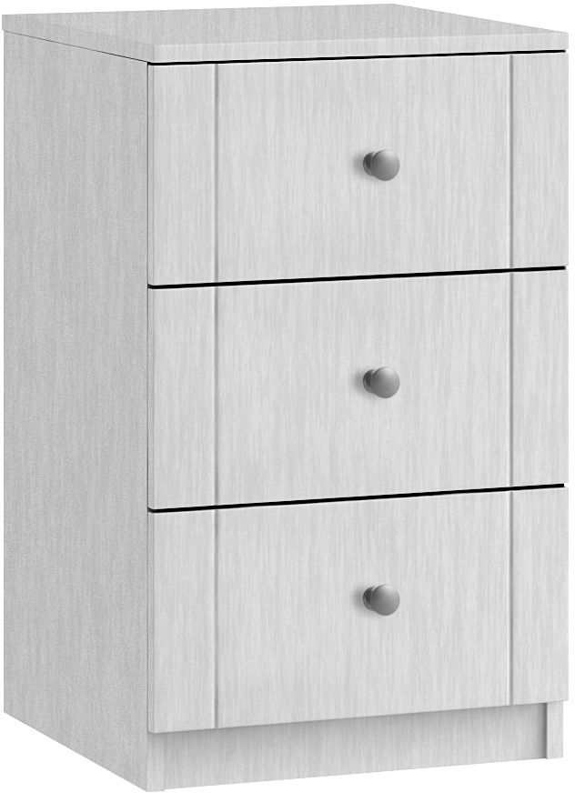 Aylesbury 3 Drawer Bedside Cabinet - Ready Assembled