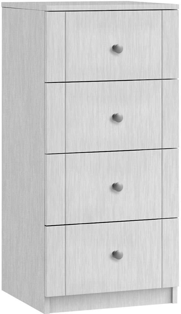Aylesbury 4 Drawer Narrow Chest - Ready Assembled