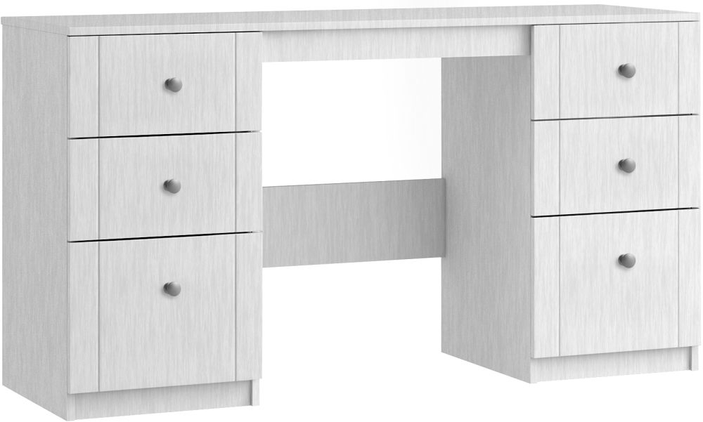 Aylesbury 6 Drawer Dressing Table - Ready Assembled