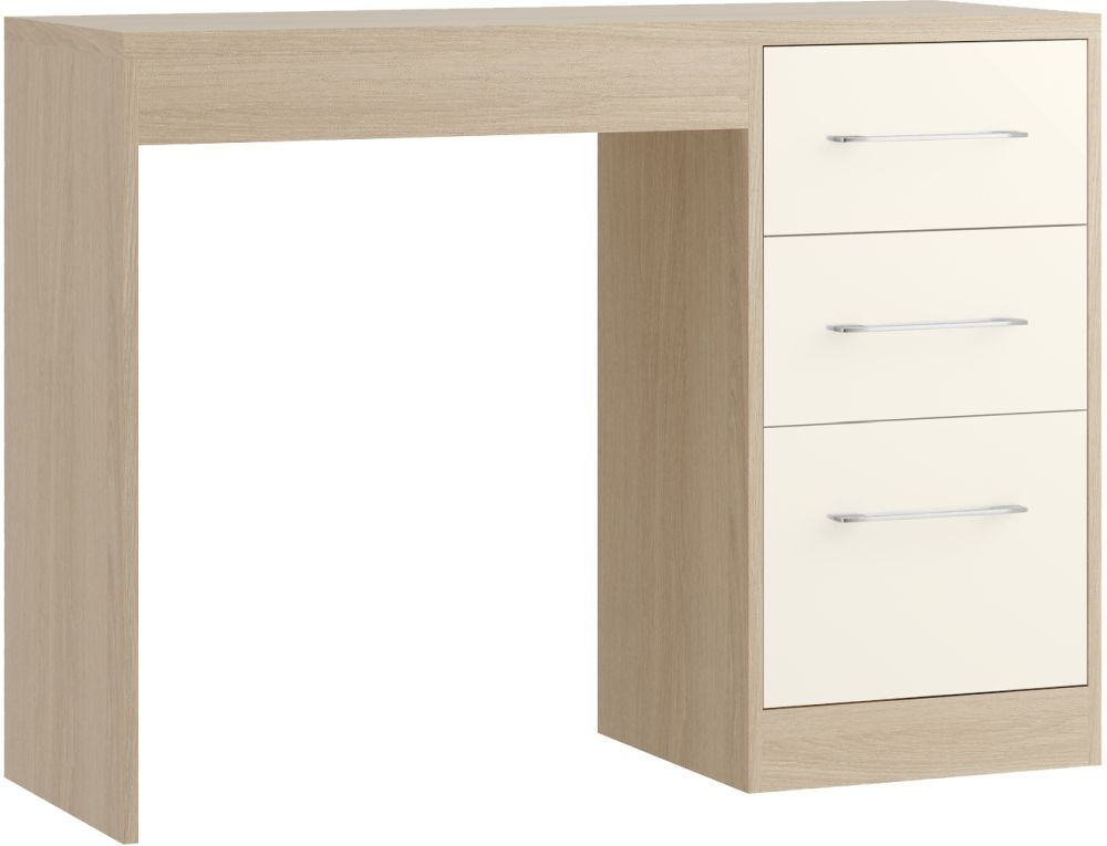 Azure 3 Drawer Dressing Table - Ready Assembled