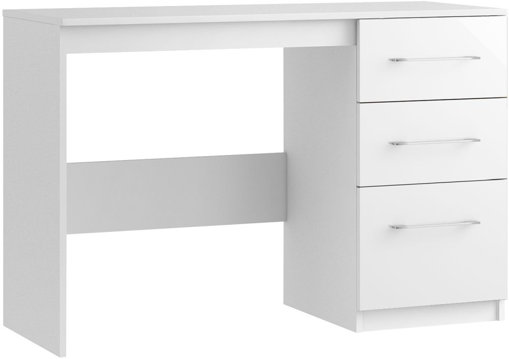 Larson 3 Drawer Dressing Table - Ready Assembled