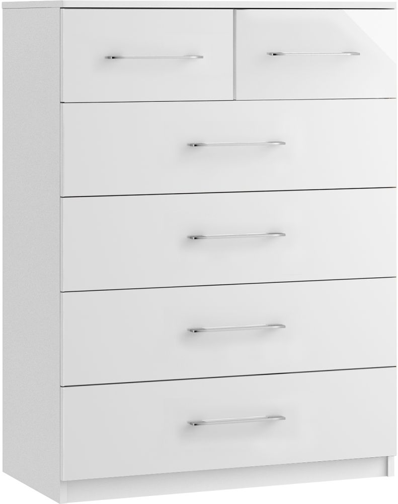 Larson 4+2 Drawer Chest - Ready Assembled