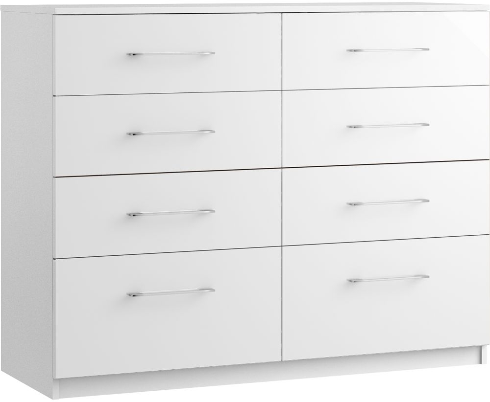 Larson 8 Drawer Twin Chest - Ready Assembled