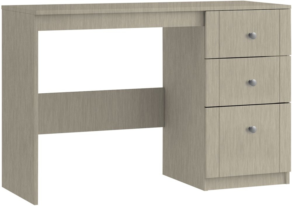 Montreal 3 Drawer Dressing Table - Ready Assembled