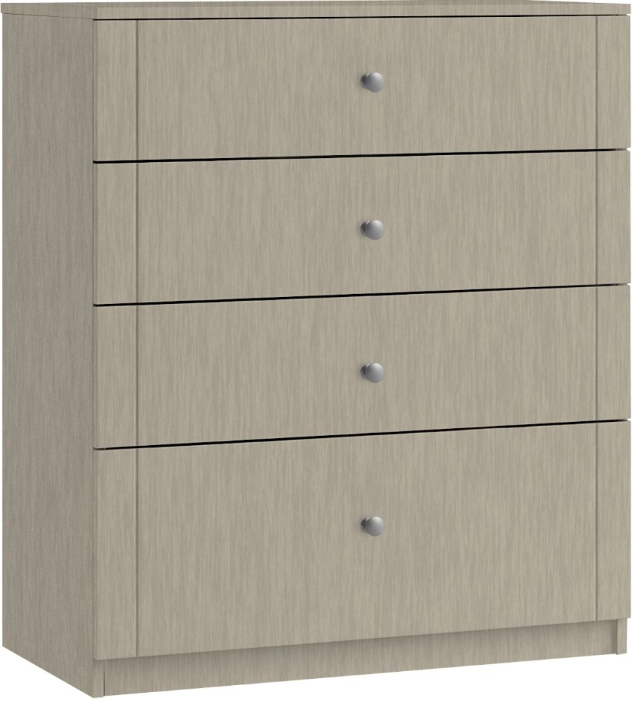 Montreal 4 Drawer Deep Chest - Ready Assembled