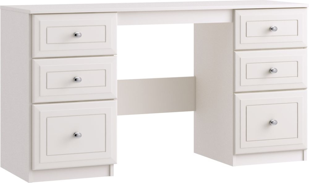 Nicole 6 Drawer Dressing Table - Ready Assembled