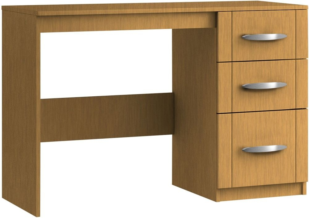 Serena 3 Drawer Dressing Table - Ready Assembled