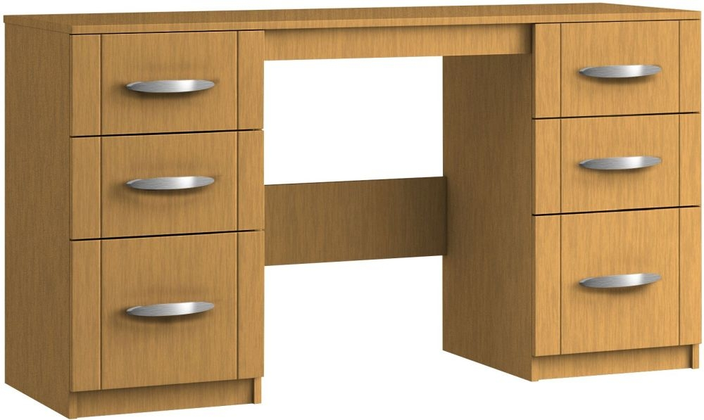Serena 6 Drawer Dressing Table - Ready Assembled