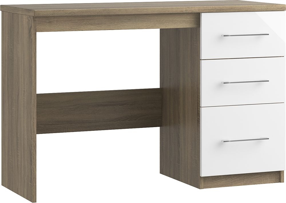 Toledo 3 Drawer Dressing Table - Ready Assembled