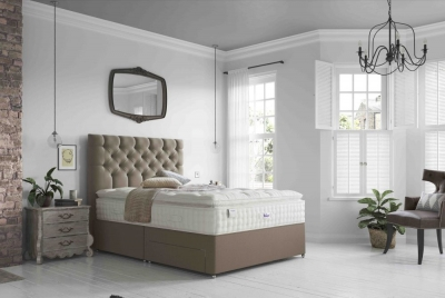 Relyon Silk 2800 Pocket Spring Elite Divan Bed