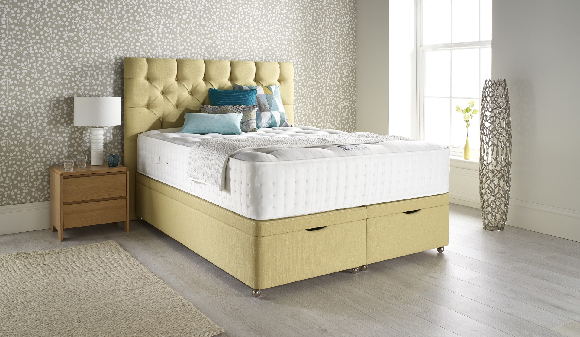 Relyon Natural Ortho Superb 2200 Pocket Sprung Divan Bed